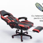 Scaun Gaming V6 Negru/Rosu