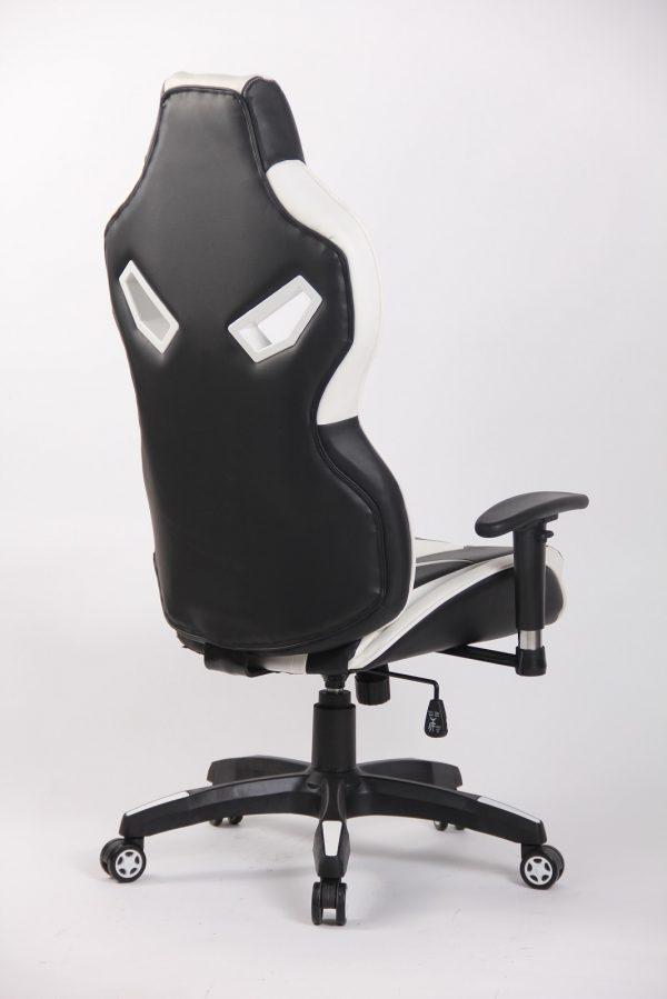 Scaun Gaming Genator V8 Alb/Negru