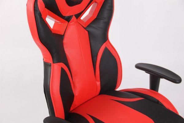 Scaun Gaming Genator V8 Negru/Rosu