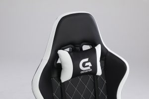 Scaun Gaming Genator V5020 Negru/Alb
