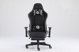 Scaun gaming Genator V1 Negru/Gri
