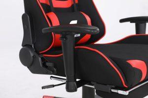 Scaun Gaming Genator V2 Negru/Rosu