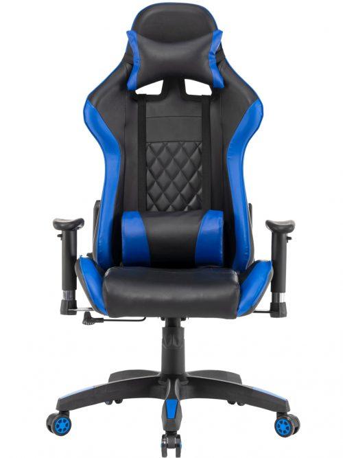 Scaun Gaming SIG063 Negru/Albastru