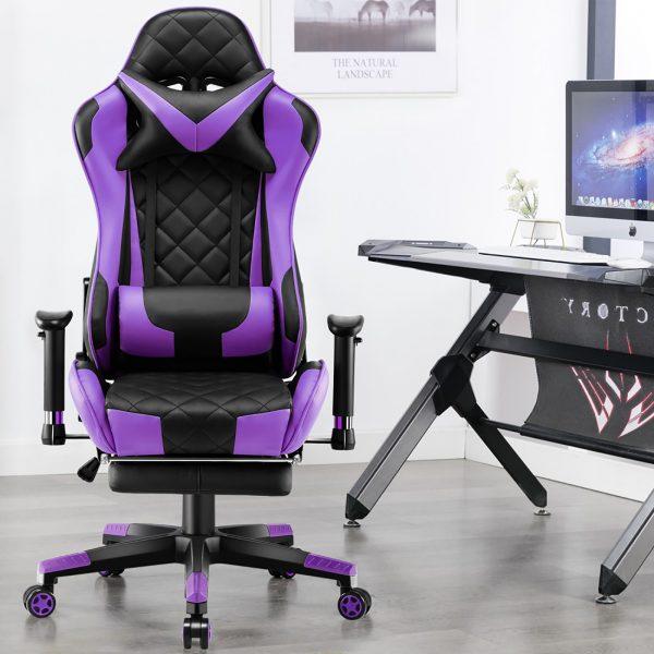 Scaun Gaming SIG5020 Negru/Violet