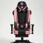 Scaun Gaming Genator V5020 Negru/Roz