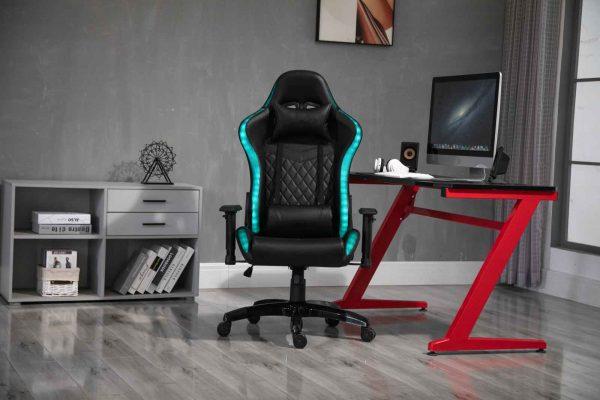 Scaun Gaming SIG5025 Negru