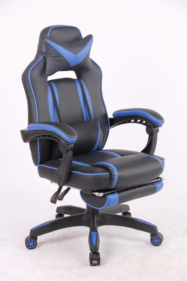 Scaun Gaming SIG8I255 Negru/Albastru