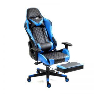 Scaun Gaming Genator V5020 Negru/Albastru