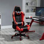 Scaun Gaming V5020 Negru/Rosu