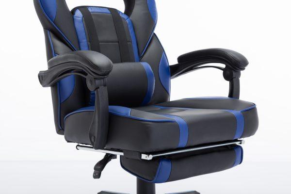 Scaun Gaming V7 Negru/Albastru