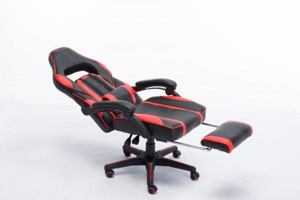 Scaun Gaming V7 Negru/Rosu